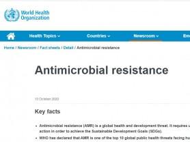 항생제 내성, 전세계 공중보건에 위협