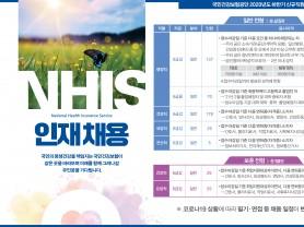 국민건강보험공단, 올해 하반기 신규직원 465명 채용