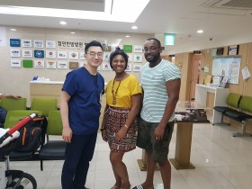 청연, 2019광주세계수영대회서 한의학 우수성 알려