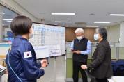 질병관리청, 정은경 청장 인천 공항검역소 방문