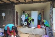 건보공단, 감염병 예방 주거환경 위해 지역사회 연합봉사활동 진행
