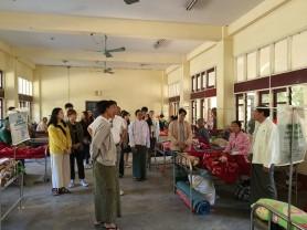 대구한의대, 미얀마 전통의과대학 현장실습 진행