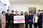 성남 저소득가정 여성청소년 위생용품 지원