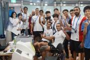 원광대 한의대, 광주세계수영선수권대회서 한의진료 자원봉사