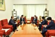 홍주의 회장, 양승동 KBS 대표 면담