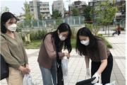 """""""마스크, 손세정제 정말 고마워요 학생들"""""""