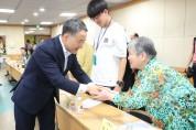 박능후 장관, 광주장애인복지관 방문
