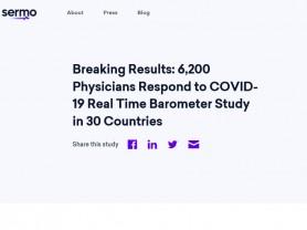 세계 의사 80% 이상이 코로나19 2차 파동 전망