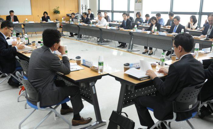 지난달 25일 서울 충정로 연금공단 13층에서 열린 제5차 건강보험정책심의위원회.
