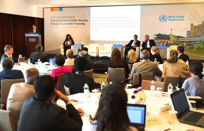 국제사회와 지속가능한 감염병 대응방안 논의