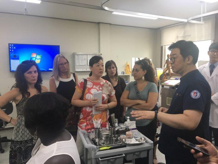 美 선학대학원, 원광대 찾아 한의학 배우기