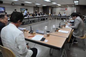 지난 15일 국민건강보험 서울사무소에서 제15차 건겅보험정책심위위원회가 열리고 있다.