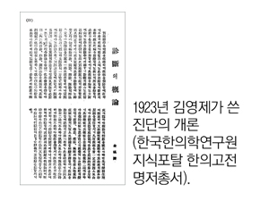 論으로 풀어보는 한국 한의학 (125)