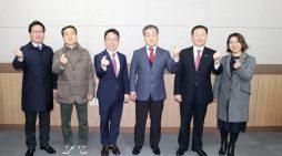 왼쪽부터 기호 1번 박혁수·양회천, 기호 2번 최혁용·방대건, 기호 3번 박광은·김영선 후보.