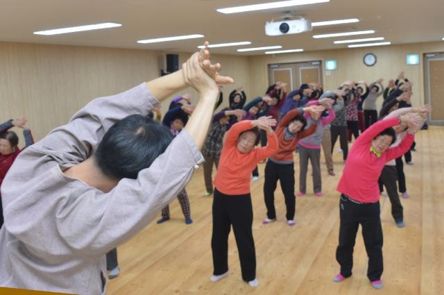 전북 순창군, 한의약 기공체조 교실 운영