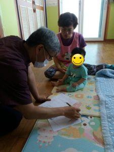 광주지부, 영아일시보호소 보호 아동 건강지킴이로 호평