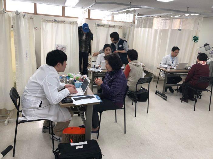 (사)약침학회 굿닥터스나눔단이 양평군노인복지관에서 한의의료봉사를 진행했다.
