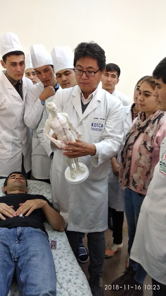 우즈벡에 부는 한국 한의학 교육 '열풍'