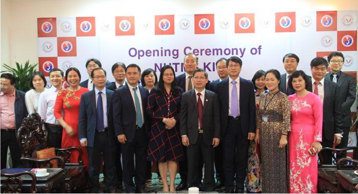 베트남 하노이에서 개최된 한의학연-NHTM 공동연구센터 개소식