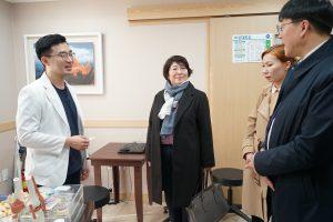 주한 키르기스스탄 대사 청연 방문