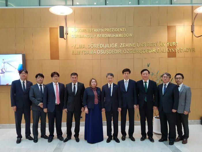 중앙아시아와 보건의료협력 기반 마련