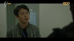 OCN 드라마 에 출연 당시 모습.