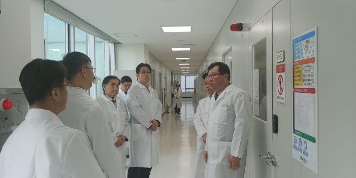 식약처, 혁신형 제약기업 현장 방문(05.08)