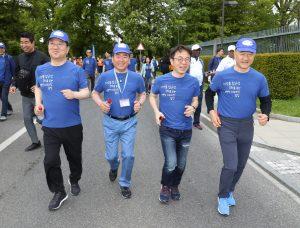 WHO 주관 걷기 행사 (2)
