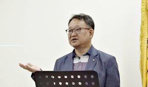 문현철 강원도한의사회 보험정책 부회장.